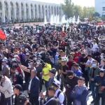 """Protestele din Kargazstan au urmat alegerilor parlamentare denuntate drept """"cele mai murdare"""" din istorie de catre opozitie"""